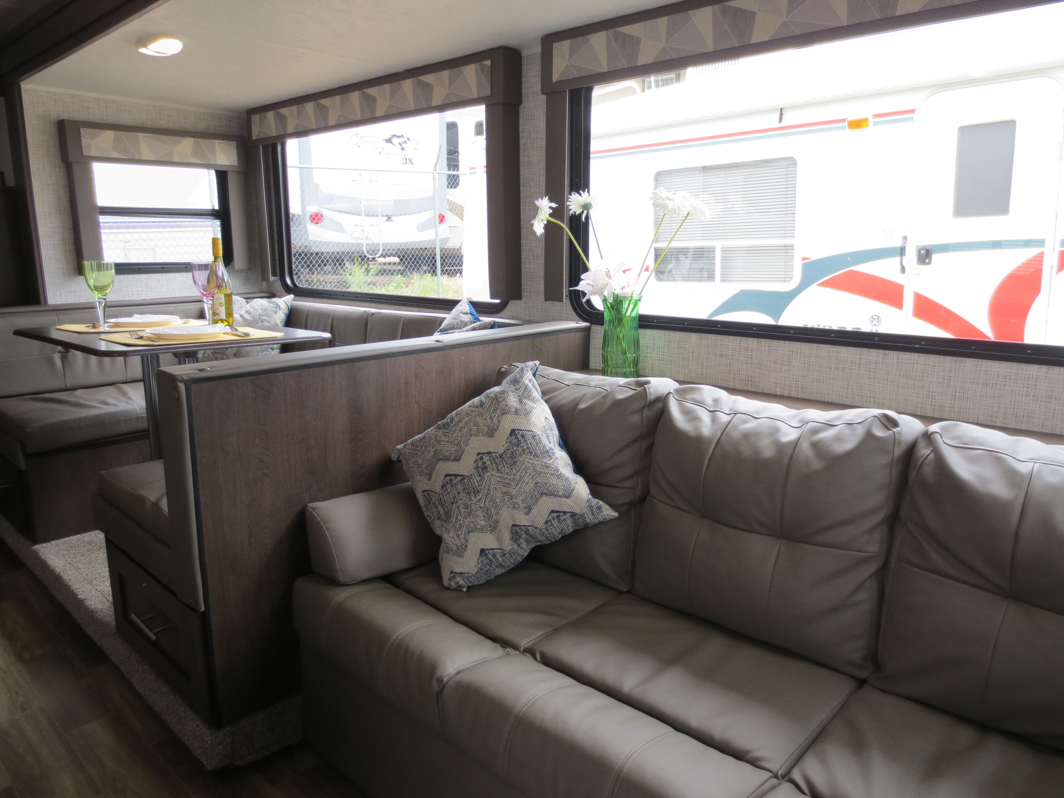 29' Cruise Lite Trailer with Slide-out Kitchen & Dinette View